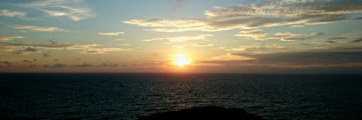 蘭嶼秋分日落