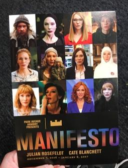 Manifesto Card