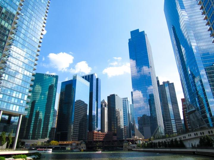 芝加哥之一:藍色的天際線