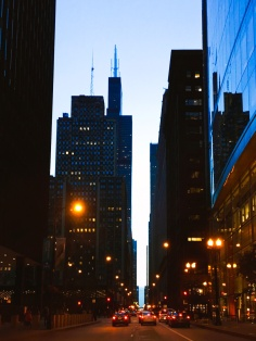Michigan Avenue Sunset